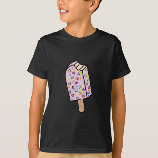 Heart Popsicle cute shirts, accessories, gifts T-Shirt
