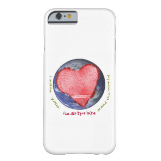 Heart Prints Barely There iPhone 6 Case