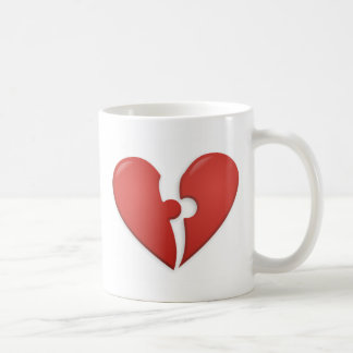 Heart Puzzle Coffee Mug