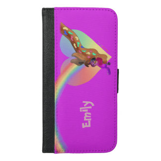 Heart Rainbow & Lila by The Happy Juul Company iPhone 6/6s Plus Wallet Case