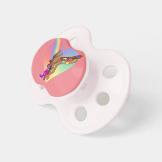 Heart Rainbow & Lila by The Happy Juul Company Pacifier