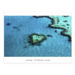 Heart Reef - Australia Postcard