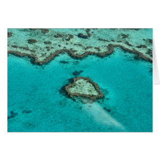 Heart Reef Note Card