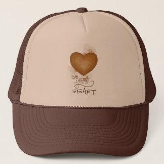 Heart Religious Encouragement, Grunge Trucker Hat