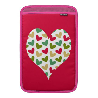 """Heart"" Rickshaw MacBook Air sleeve 11"""