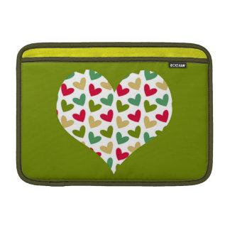 """Heart"" Rickshaw MacBook Air sleeve 11"""