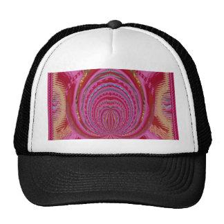 Heart Romance Love EMBLEM PinK PurpLE  Satin Silk Trucker Hat