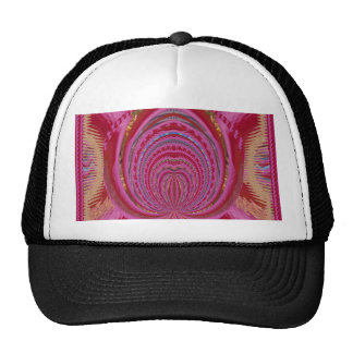 Heart Romance Love EMBLEM PinK PurpLE  Satin Silk Mesh Hat