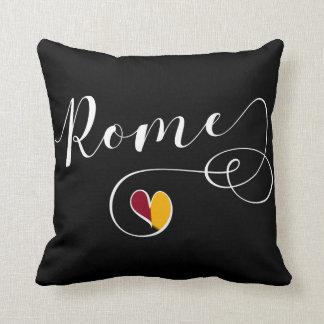 Heart Rome Pillow, Italy, Italian Throw Pillow