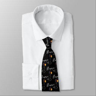 Heart Rome Tie, City Flag, Italian Tie