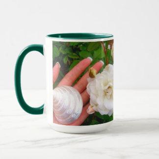 Heart Rose Mug