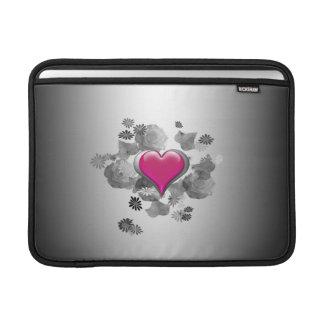 Heart & Roses MacBook Air Sleeve