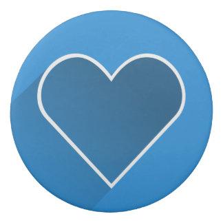 Heart Round Eraser
