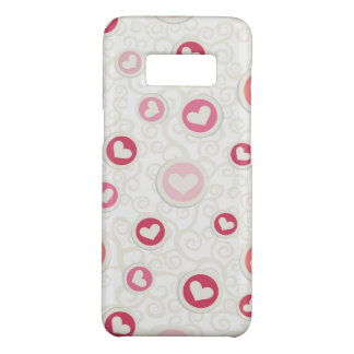 Heart Samsung Galaxy S8, Barely There Phone Case