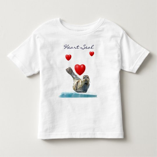 HEART SEAL PUP Valentines Animal-Lover Kid's Shirt