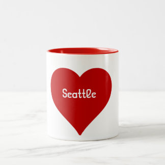 Heart Seattle Mug