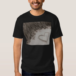 Heart Sepia Image T Shirt