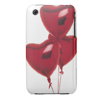 Heart-shaped balloons iPhone 3 covers