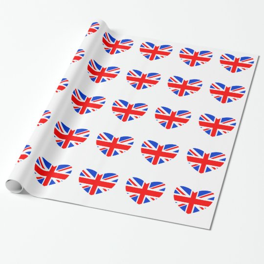 Heart Shaped British Flag