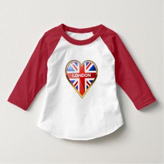 Heart-Shaped British Flag T-Shirt