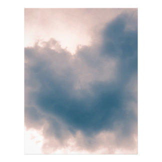 Heart Shaped Cloud Letterhead