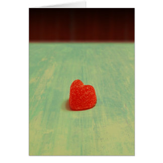 Heart Shaped Gumdrop Card