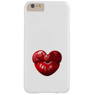 Heart Shaped Lips Barely There iPhone 6 Plus Case