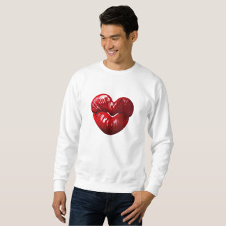 Heart Shaped Lips Sweatshirt