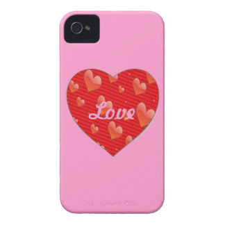 Heart-Shaped Love BlackBerry Bold Case