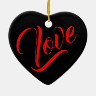 Heart Shaped Love Ornament