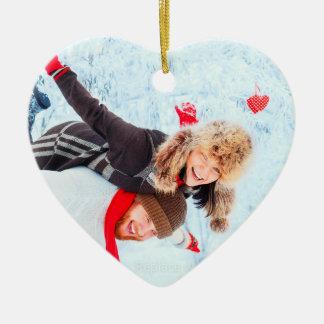 Heart Shaped Photo Ornaments | Christmas Holiday