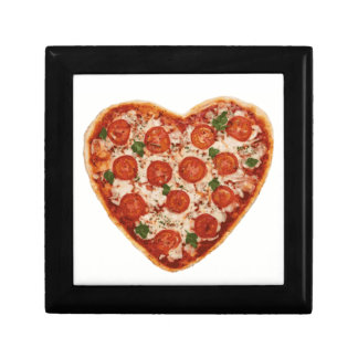 heart shaped pizza gift box