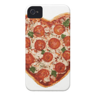 heart shaped pizza iPhone 4 case