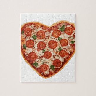 heart shaped pizza jigsaw puzzle