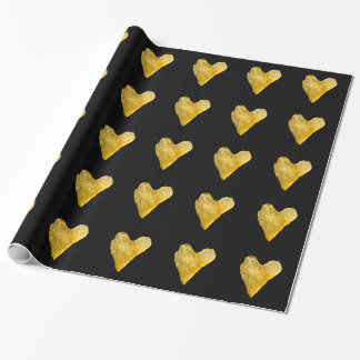 Heart Shaped Potato Chip Wrapping Paper