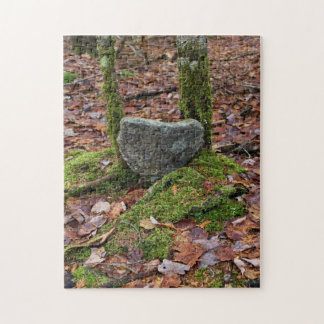 Heart-Shaped Rock Puzzles