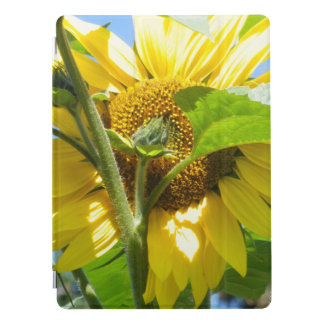 Heart Shaped Sunflower iPad Pro Cover
