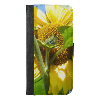 Heart Shaped Sunflower iPhone 6/6s Plus Wallet Case