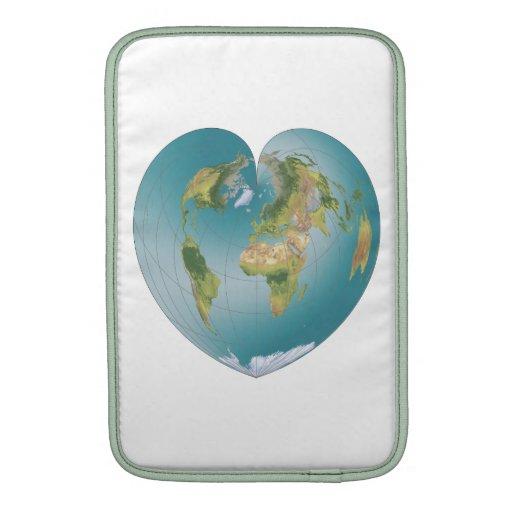Heart Shaped World MacBook Air Sleeve