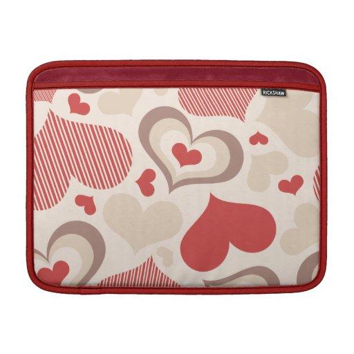 Heart Shapes MacBook Air Sleeve
