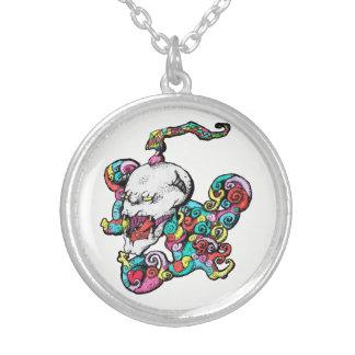 Heart Skull Necklace