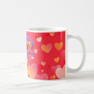 Heart smiley coffee mug