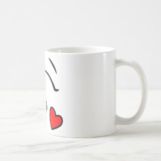 Heart Smiley Face MUG