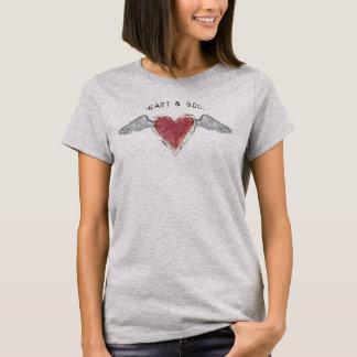 """Heart & Soul-2""  Basic T-Shirt"