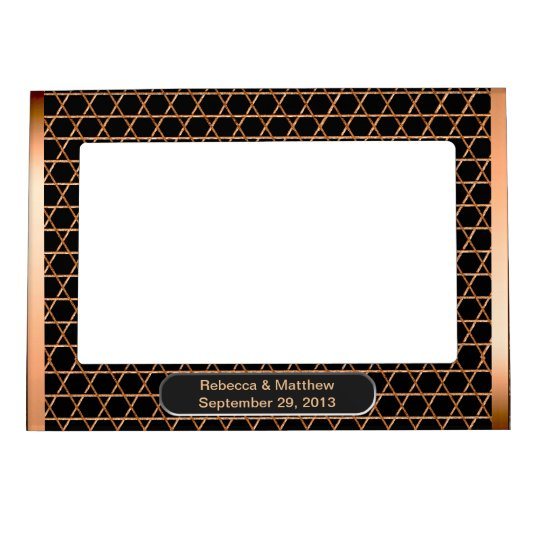 Heart & Soul - Copper (Personalized) Picture Frame Magnets