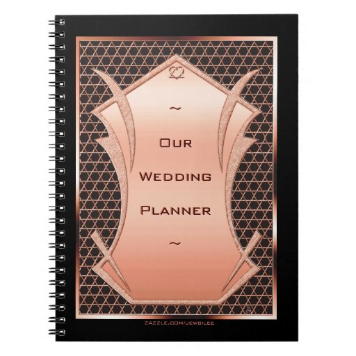 Heart & Soul Copper Wedding Planner (Notebook)