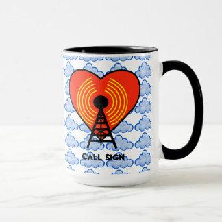 Heart & Soul Ham Radio Mug