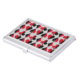 Heart Spade Diamond Club Business Card Holder