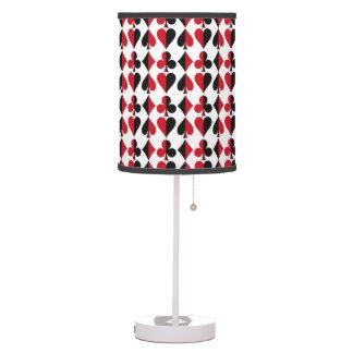 Heart Spade Diamond Club Desk Lamps