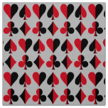 Heart Spade Diamond Club Fabric